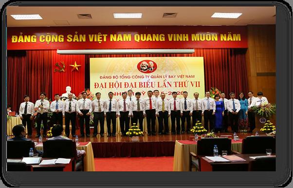 Đảng bộ Tổng công ty Quản lý bay Việt Nam - Quá trình xây dựng và phát triển (1993-2017)