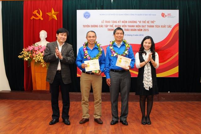Danh hiệu - Thành tích của Đoàn TNCS Hồ Chí Minh Tổng công ty Quản lý bay Việt Nam