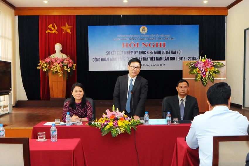 Cơ cấu tổ chức của Công đoàn Tổng công ty Quản lý bay Việt Nam