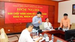 Hội nghị BCH Đảng bộ Tổng công ty lần thứ V