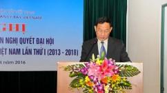 Hội nghị giữa nhiệm kỳ 2013 - 2018 Công đoàn Tổng công ty Quản lý bay Việt Nam