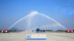 VATM chào mừng điều hành chuyến bay thứ 900.000 trong năm 2019