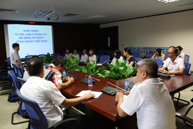 Công ty Quản lý bay miền Bắc tổ chức lớp học huấn luyện nghiệp vụ công tác Đoàn thể