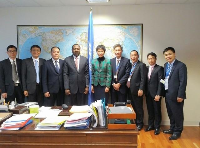 Tổng Giám đốc tham dự Đại hội đồng ICAO lần thứ 39 tại Ca-na-đa