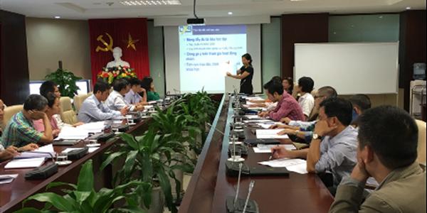 Trung tâm Quản lý luồng không lưu tổ chức huấn luyện Nâng cao kỹ năng đánh giá nội bộ hệ thống quản lý chất lượng ISO 9001:2015