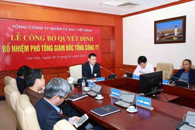 VATM: Công bố Quyết định bổ nhiệm Phó Tổng giám đốc