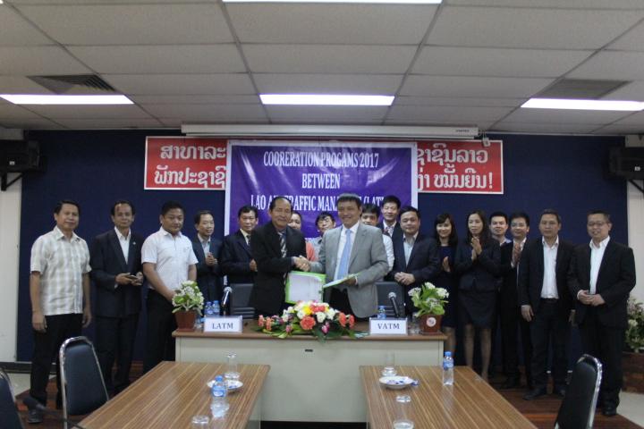 Hội nghị về hợp tác song phương VATM - LATM