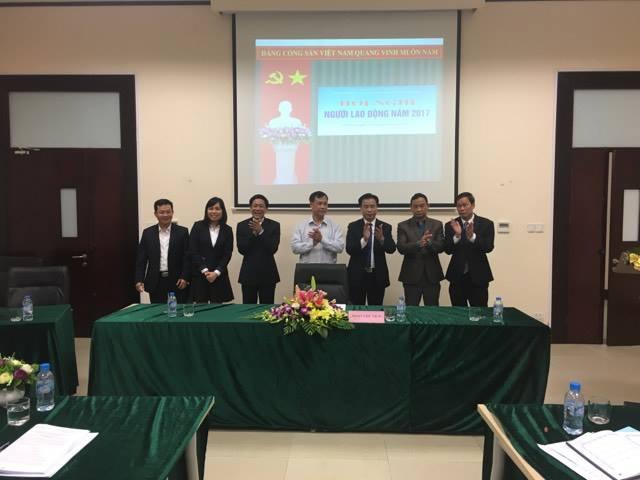 Trung tâm Đào tạo Huấn luyện Nghiệp vụ Quản lý bay tổ chức Hội nghị Người lao động năm 2017
