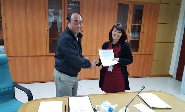 Công ty QLBMB:  Công bố Quyết định bổ nhiệm Phó Trưởng phòng Không lưu