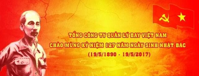 Đảng ủy Tổng công ty Quản lý bay Việt Nam đẩy mạnh các hoạt động chào mừng Kỷ niệm 127 năm ngày sinh nhật Bác