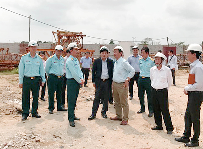 VATM: Kiểm tra thực tế công trường xây dựng Đài Kiểm soát không lưu Thọ Xuân
