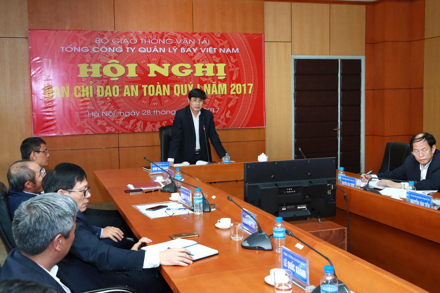 VATM: Tổ chức Hội nghị trực tuyến Ban Chỉ đạo An toàn Quý I/2017