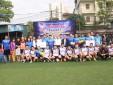 Chào mừng kỷ niệm 86 năm ngày thành lập Đoàn, Thanh niên Trung tâm quản lý luồng không lưu giao lưu bóng đá với Công đoàn