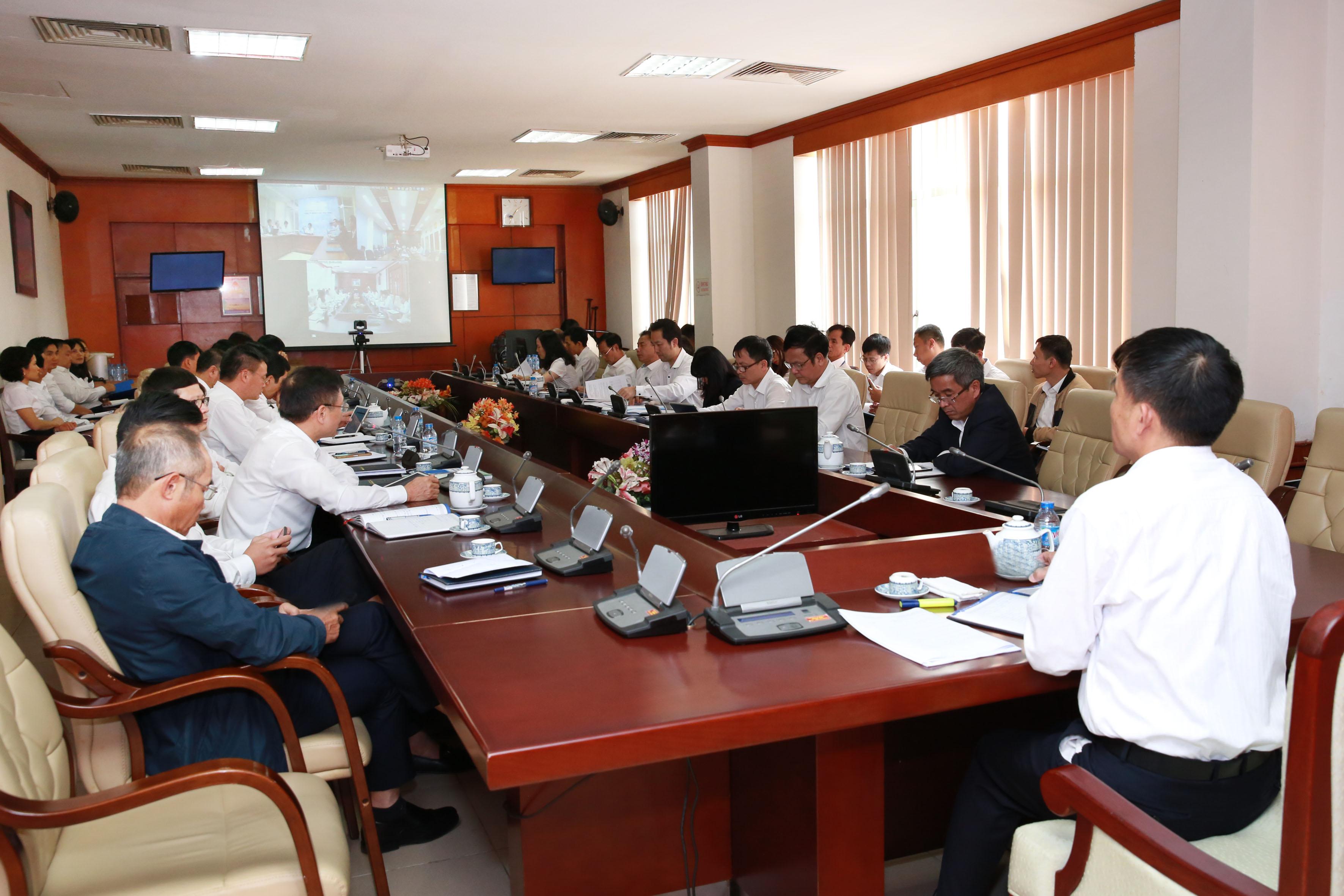 VATM: Hội nghị giao ban công tác Kế hoạch - Đầu tư tháng 3/2017