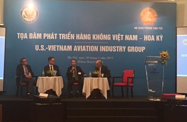 Tổng công ty Quản lý bay Việt Nam tham dự Tọa đàm phát triển  hàng không Việt Nam – Hoa Kỳ
