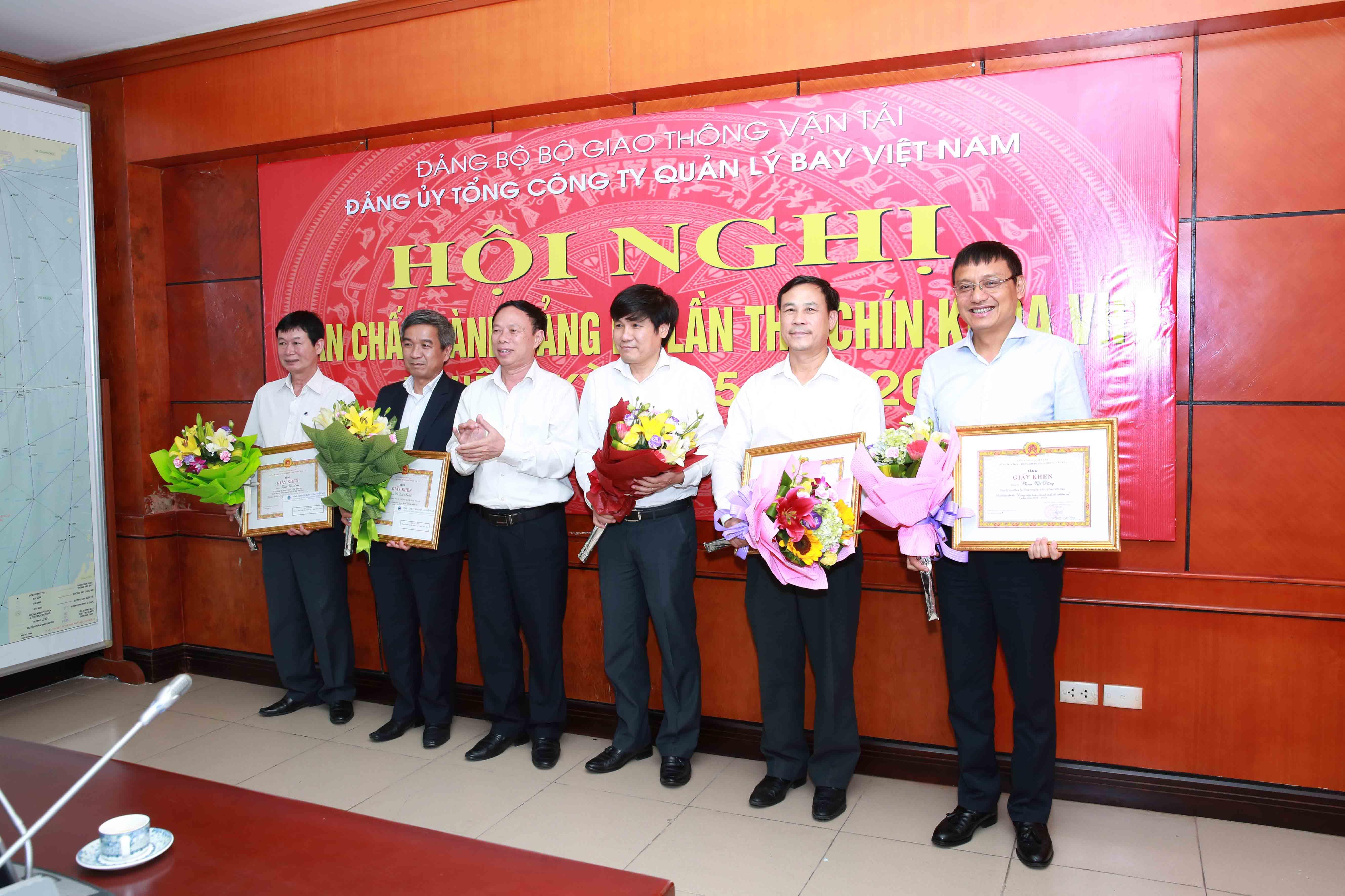 Hội nghị Ban chấp hành Đảng bộ Tổng công ty Quản lý bay Việt Nam lần thứ 9 khóa VII, nhiệm kỳ 2015- 2020