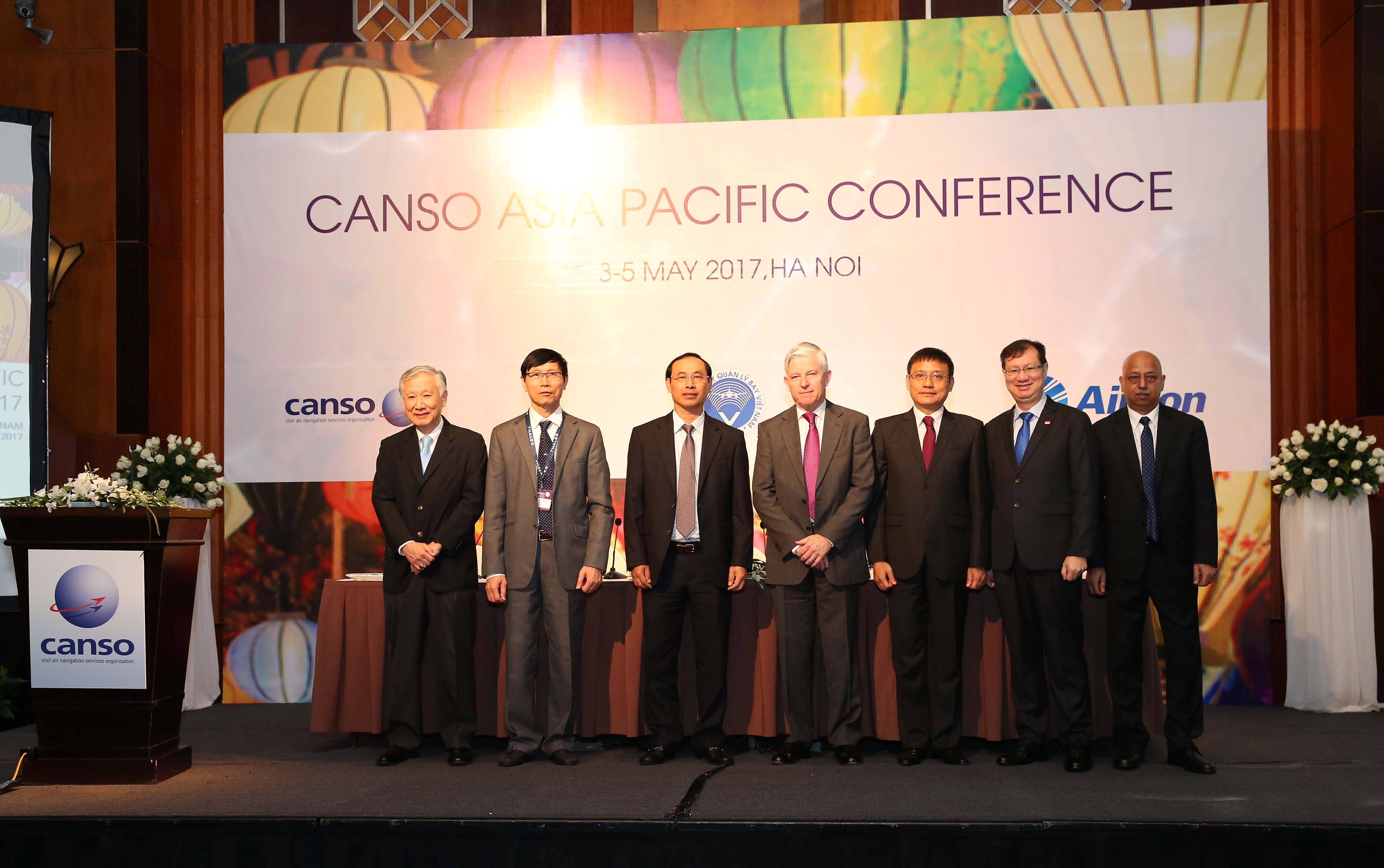 Khai mạc Hội nghị CANSO khu vực châu Á-Thái Bình dương tại Hà Nội