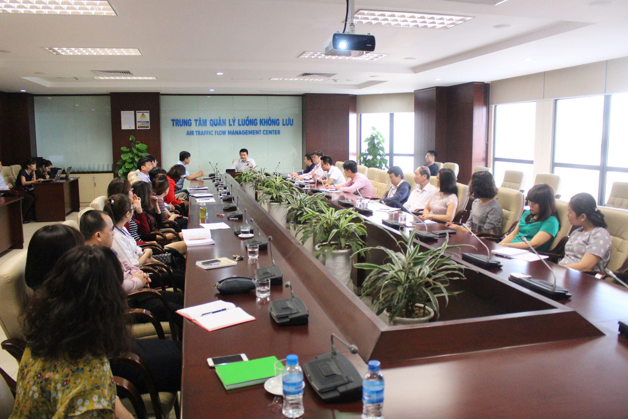 Hội nghị về công tác hiệp đồng giữa Trung tâm Quản lý điều hành bay Quốc gia- Quân chủng Phòng không Không quân và Trung tâm Quản lý luồng không lưu