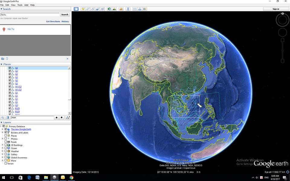 """Áp dụng phần mềm """"Google Earth Pro"""" để hỗ trợ trong công tác phát hành NOTAM"""