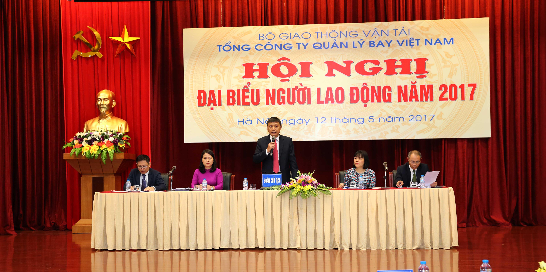 VATM: Tổ chức Hội nghị đại biểu Người lao động năm 2017