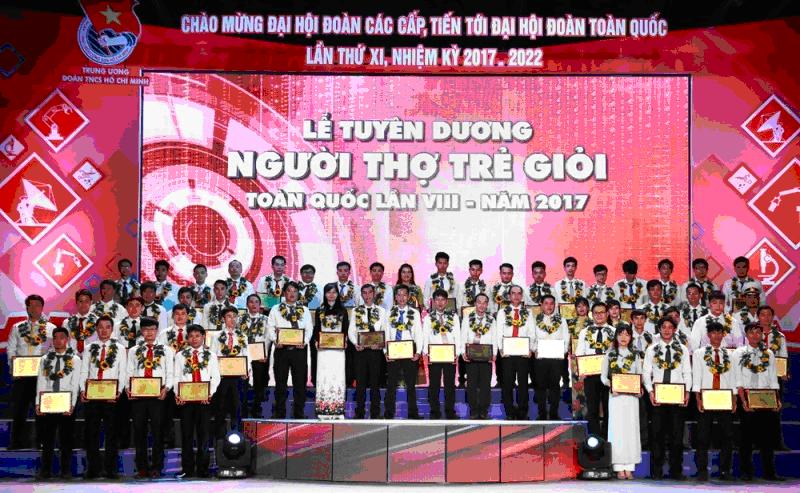 Người thợ trẻ giỏi toàn quốc – Đoàn TN TCT Quản lý bay vinh dự  có một gương mặt tiêu biểu