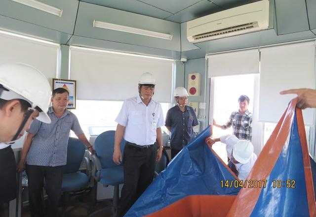 Thực hành Phương án ứng phó thiên tai tại các Đài Kiểm soát không lưu Công ty Quản lý bay miền Trung