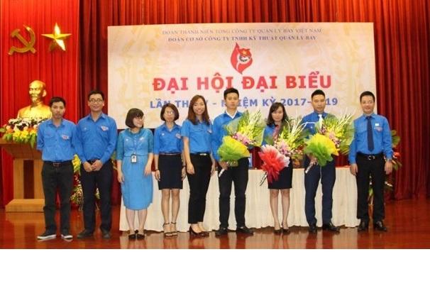 Đại hội đại biểu Đoàn TNCS Hồ Chí Minh Công ty TNHH Kỹ thuật Quản lý bay nhiệm kỳ V (2017– 2019)