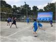 Công đoàn Trung tâm Phối hợp tìm kiếm cứu nạn Hàng không tổ chức thi đấu giao hữu bóng chuyền
