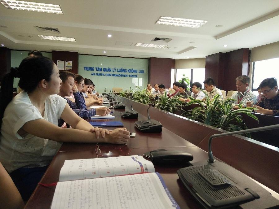 Thúc đẩy công tác huấn luyện an toàn vệ sinh lao động tại Trung tâm Quản lý luồng không lưu