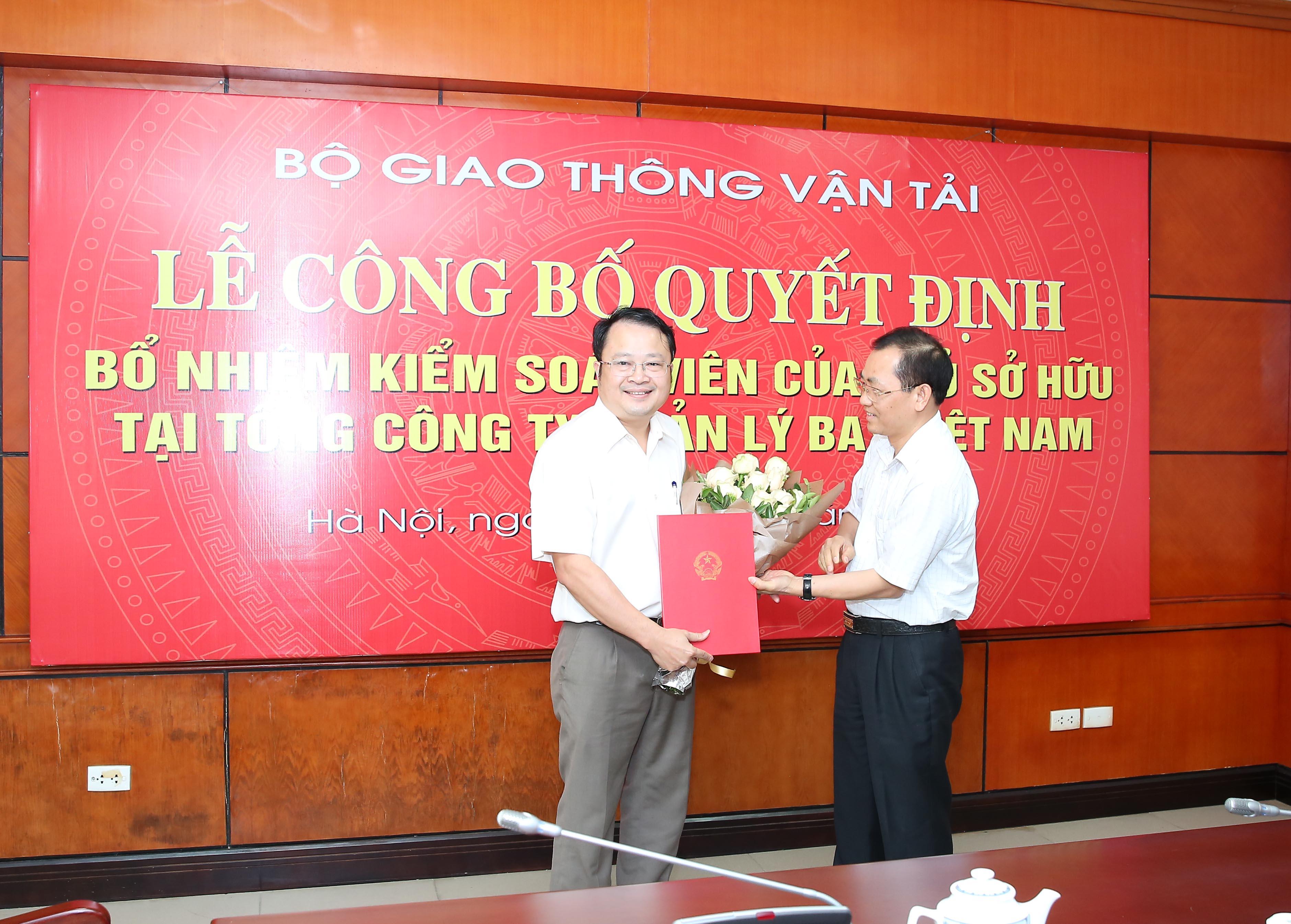 Lễ công bố Quyết định bổ nhiệm Kiểm soát viên chuyên trách Tổng công ty Quản lý bay Việt Nam