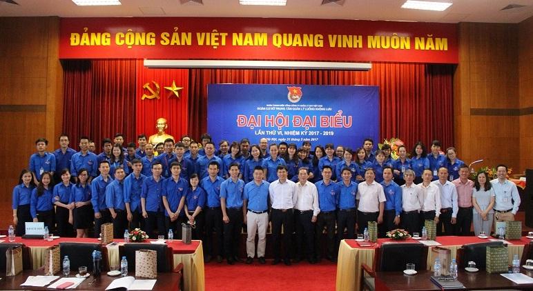 Đoàn Cơ sở Trung tâm Quản lý luồng không lưu tổ chức thành công Đại hội Đại biểu nhiệm kỳ VI (2017-2019)