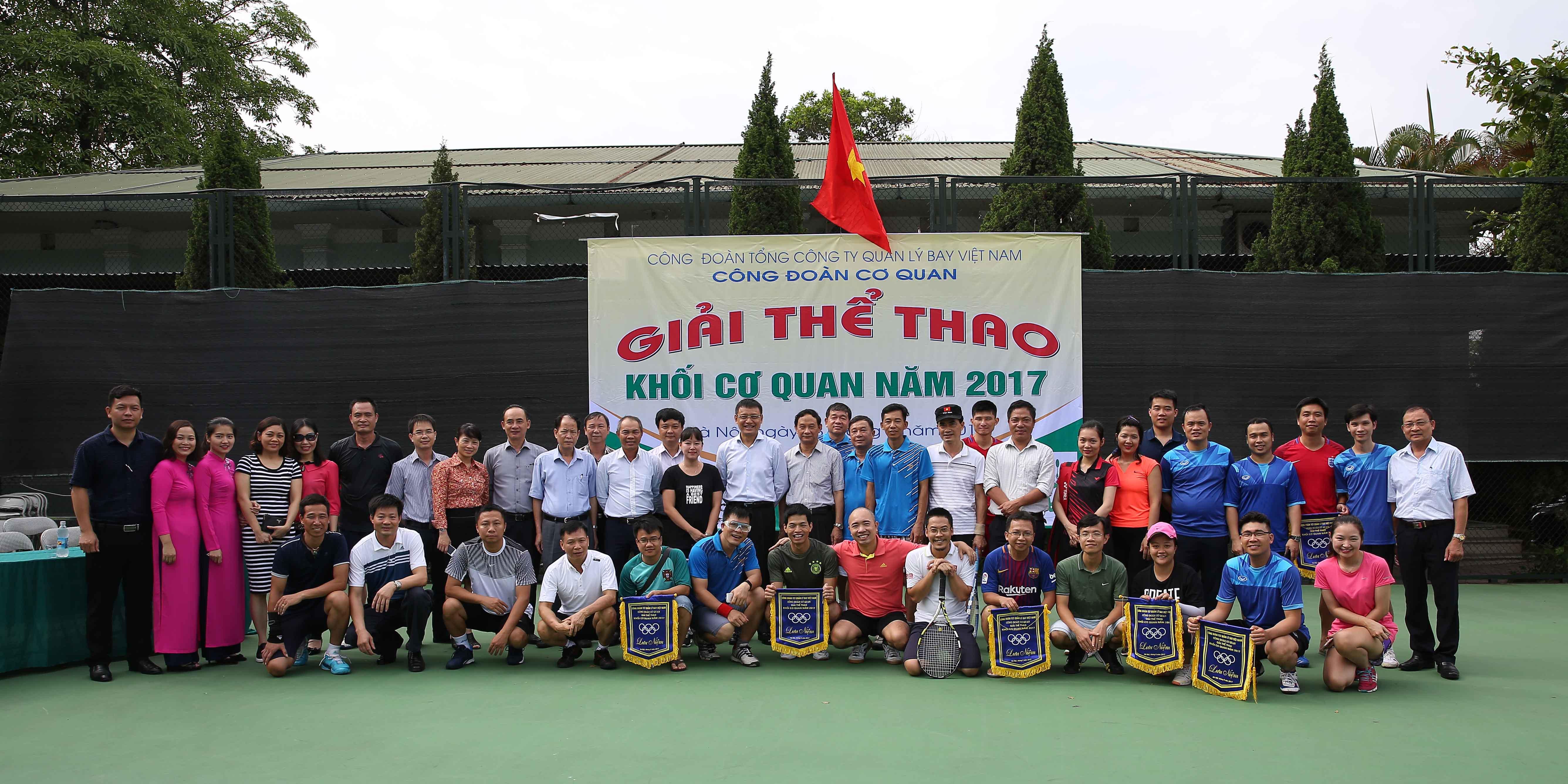 Giải thể thao Khối cơ quan Tổng công ty Quản lý bay Việt Nam năm 2017