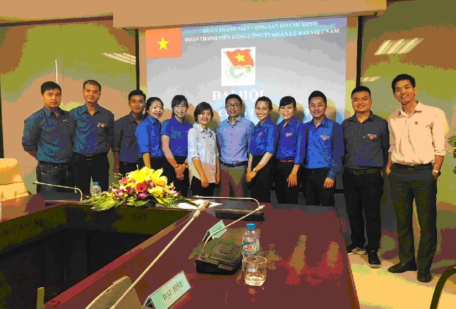 Chi đoàn cơ sở Trung tâm Phối hợp tìm kiếm cứu nạn Hàng không tổ chức đại hội chi đoàn nhiệm kỳ 2017-2019