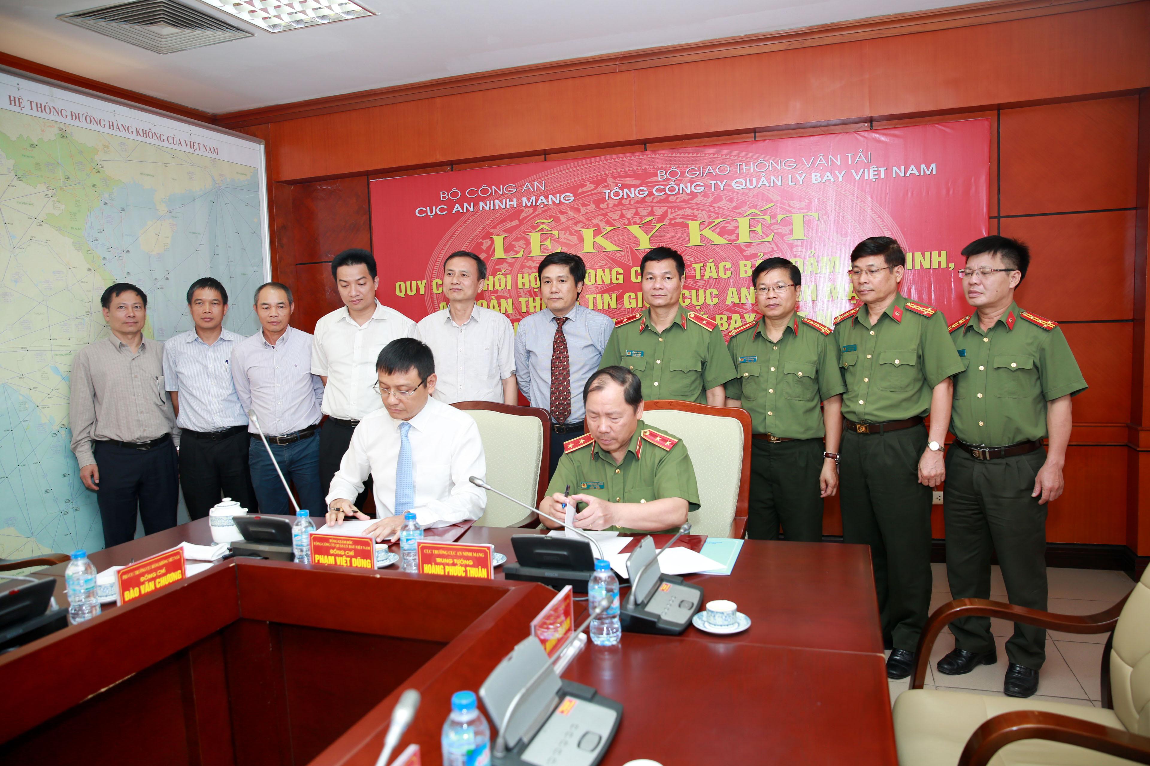 VATM ký kết quy chế phối hợp trong công tác bảo đảm an ninh, an toàn thông tin mạng