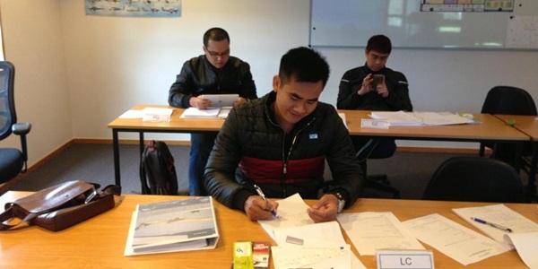 Khai giảng khoá huấn luyện nâng cao kiểm soát đường dài tại Trung tâm huấn luyện Airways Newzealand