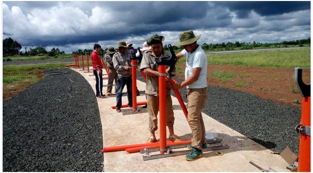 Hoàn thành thi công lắp đặt Hệ thống thiết bị ILS/DME tại sân bay Buôn Ma Thuột