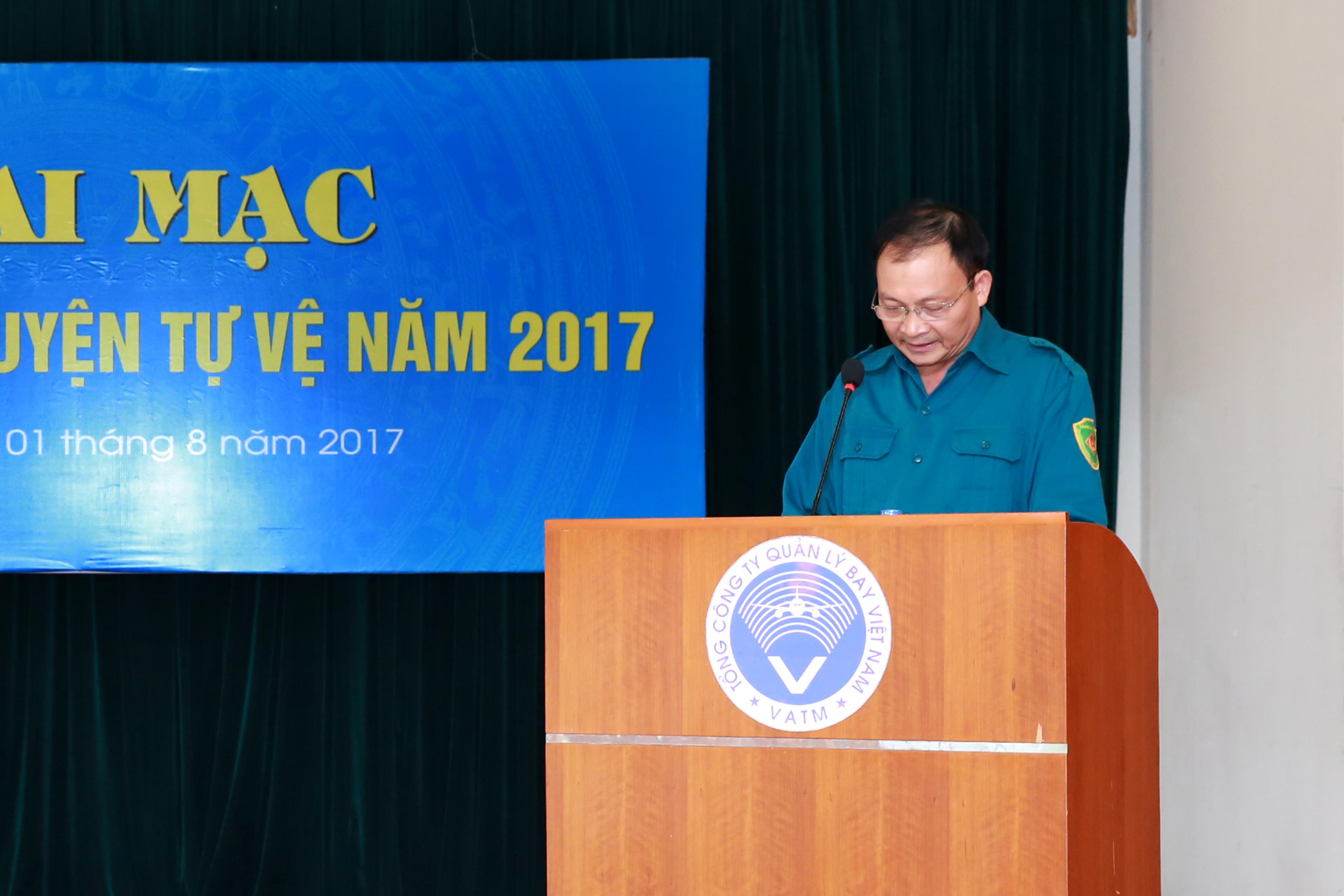 Khai mạc Tuần lễ Huấn luyện tự vệ năm 2017