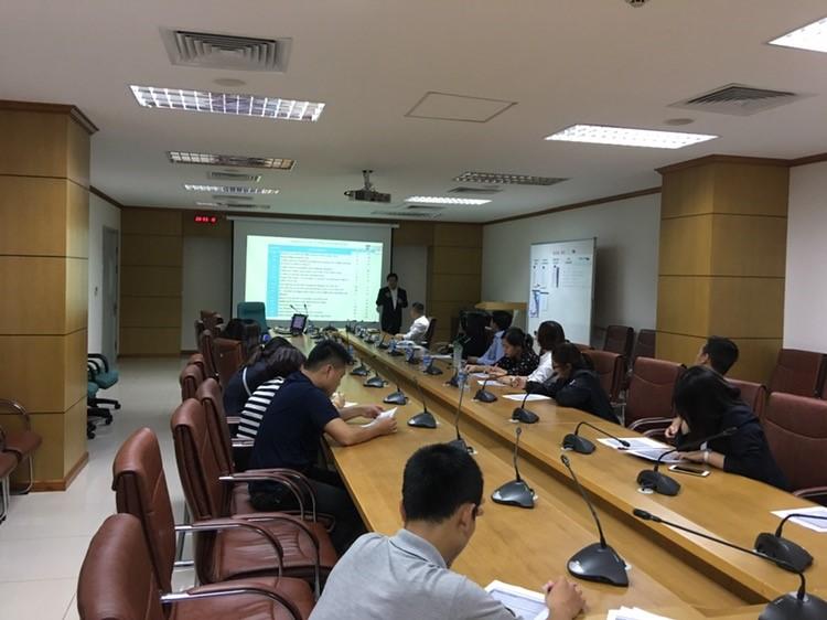 Hợp tác với Viện Quản lý không lưu (ATMRI), Singapore trong việc Đánh giá thực trạng tổ chức vùng trời Việt Nam phục vụ Dự án APP/TWR Đà Nẵng