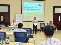 Trung tâm Đào tạo – Huấn luyện triển khai Chương trình bồi dưỡng huấn luyện viên và nghiệp vụ sư phạm