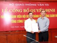 Công bố quyết định bổ nhiệm Thành viên Hội đồng thành viên, Tổng giám đốc Tổng công ty Quản lý bay Việt Nam
