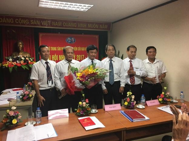 Đại hội Chi bộ Trung tâm Phối hợp tìm kiếm cứu nạn Hàng không  nhiệm kỳ 2017 - 2020
