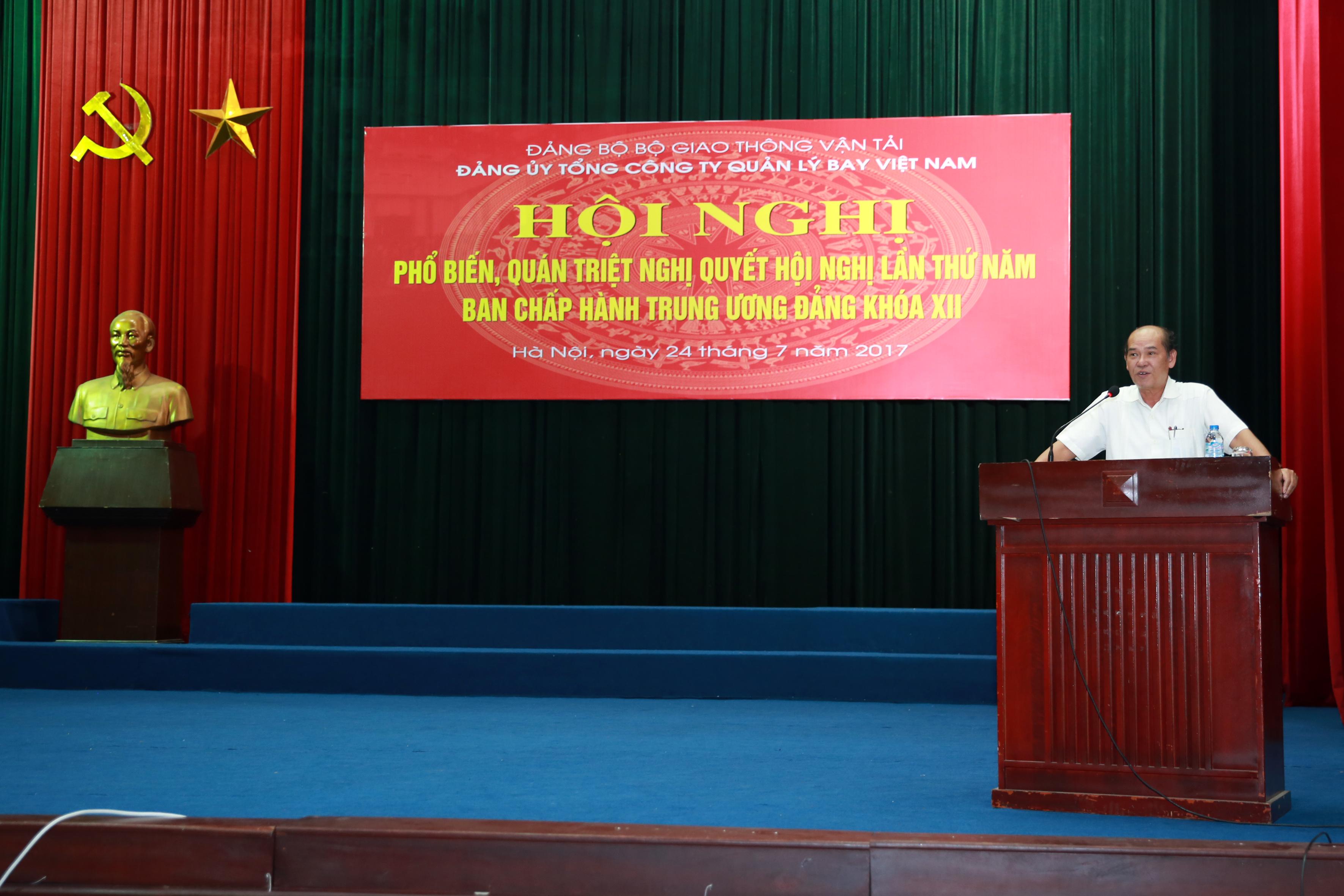 Đảng bộ Tổng công ty Quản lý bay Việt Nam: Không ngừng vươn lên và quyết tâm phấn đấu liên tục hoàn thành xuất sắc nhiệm vụ chính trị