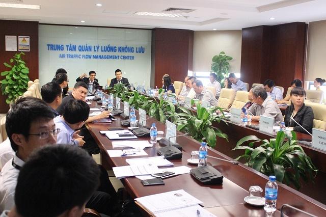 Hội thảo về Quản lý luồng không lưu giữa VATM và AEROTHAI