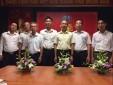 Chi bộ Đội Bảo đảm Môi trường kỹ thuật - Trung tâm Quản lý luồng không lưu tổ chức Lễ kết nạp đảng viên