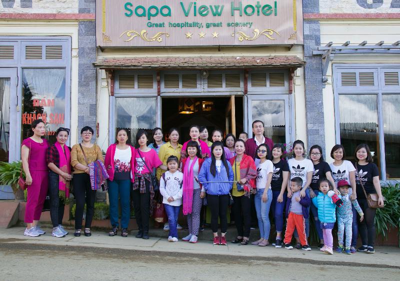 Công ty Quản lý bay miền Bắc tổ chức cho nữ CBCNV về nguồn tại Sapa- Lào Cai