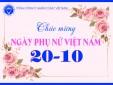 Lãnh đạo VATM chúc mừng ngày Phụ nữ Việt Nam 20-10