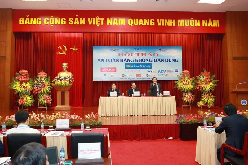 Hội thảo 20 năm an toàn hàng không dân dụng Việt Nam