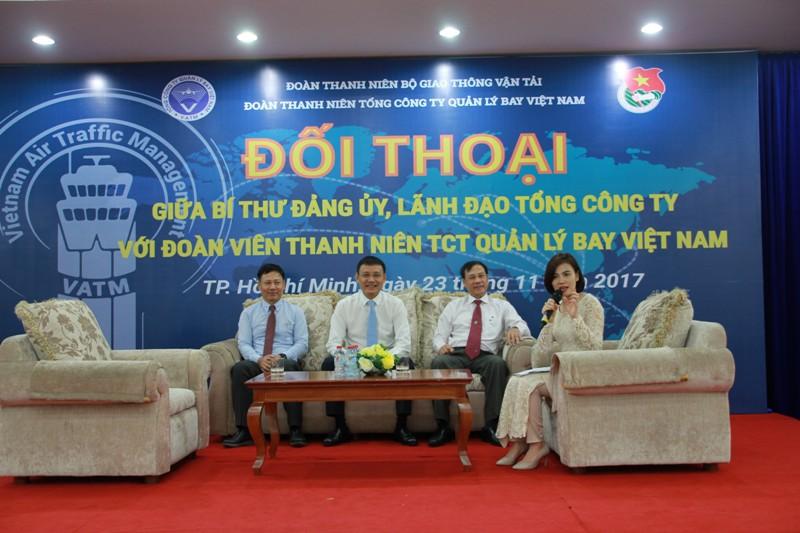 Chương trình đối thoại giữa Bí thư Đảng ủy, lãnh đạo Tổng công ty với Đoàn Thanh niên Tổng công ty