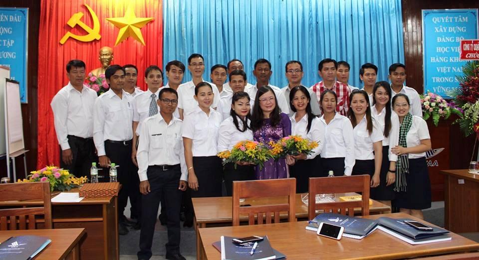 Đào tạo huấn luyện dự báo viên Khí tượng hàng không Campuchia