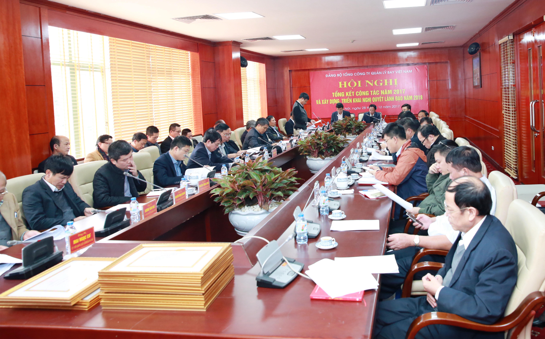 Hội nghị Ban Chấp hành Đảng bộ Tổng công ty lần thứ 12 và Tổng kết công tác Đảng năm 2017